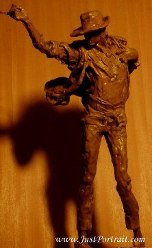 Affordable custom bronze figurative sculptures, indoor or outdoor bronze sculptures