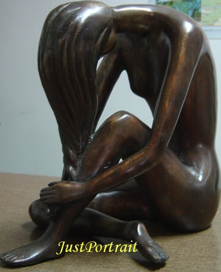 Bronze artistic sculpture for home decoration, wholesale prices