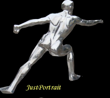 Affordable custom stainless steel sculptures from photos
