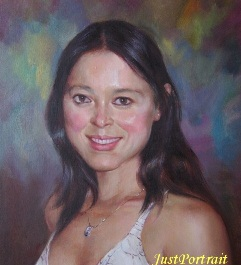 Commission a Fine Art Custom Oil Portrait Painting or custom family portrait from photo
