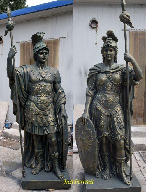 bronze statues and sculptures