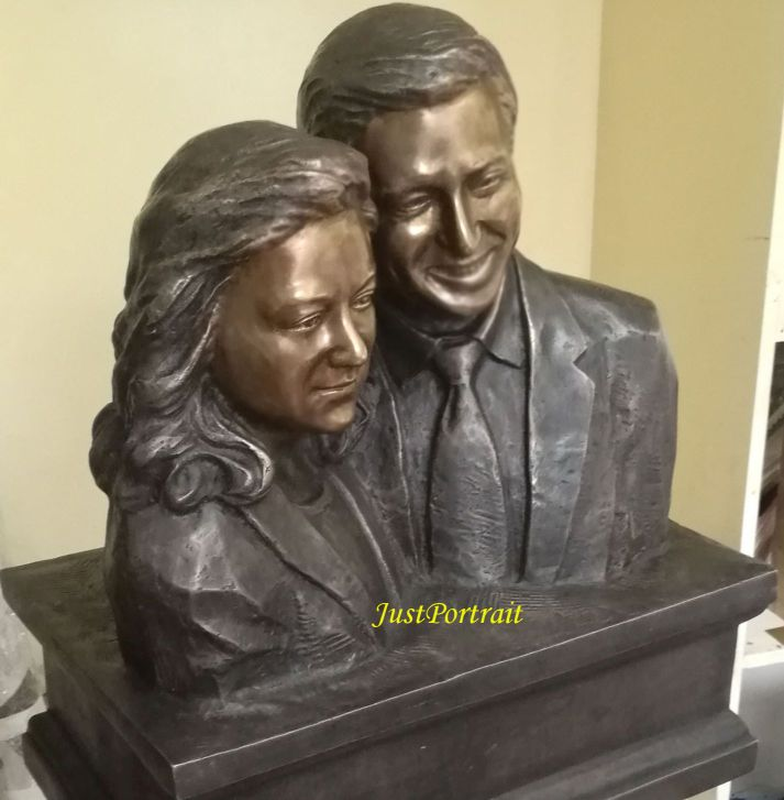 Affordable Custom Portait Bust Urns Memorial Bust Urns And Keepsake